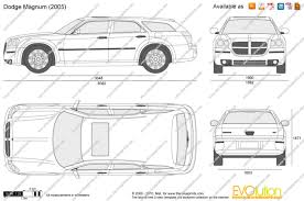 the blueprints com vector drawing dodge magnum