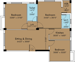 1300 sq ft 3 bhk 2t apartment for sale in sga projects and