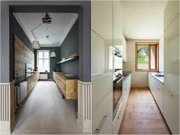amenager une cuisine en longueur design interieur comment aménager cuisine longueur fenetre fond