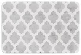 Square Bath Rug Square Bath Rug With Amanda Gray Moroccan Gray White