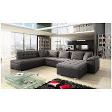 grand canap en u ideal canape dangle design moderne ce grand canapé d angle en u