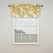 waverly graceful garden scalloped valance walmart com