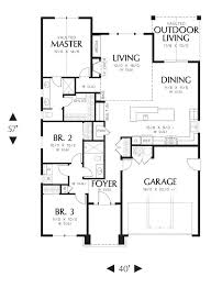 the house designers house plans greene 3086 3 bedrooms and 2 5 baths the house designers