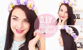 flower headbands diy diy flower headbands