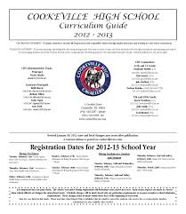 2012 13 curriculum guide by cookeville high issuu