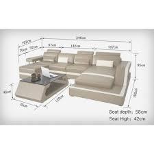 canapé d angle dimension canapé dimension dimension d un canapé d angle maison gallery