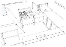 normes cuisine professionnelle plan de cuisine professionnelle plan cuisine professionnel 3d plan