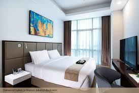 Wall Bed Jakarta Oakwood Suites La Maison Jakarta Serviced Apartments For Rent In