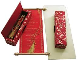 fancy indian wedding invitations scroll invitations scroll wedding invitations scroll wedding cards