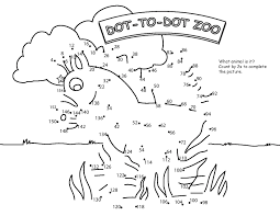 skip count by 2 connect the dots coloring pages for kids 3