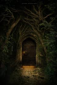 Keyhole Doorway by This Is Definitely A Path To Faery Secret Door By Georgina Gibson