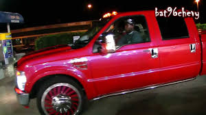 Pink Ford Raptor Truck - outrageous red pink ford f 350 dually on 26