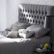 Grey Tufted Headboard Tufted Headboard King Size Bed Foter
