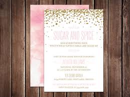 sugar and spice and everything baby shower sugar and spice and everything themed shower invites baby