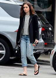 lily collins lilycollins leaves a nail salon in west hollywood 22