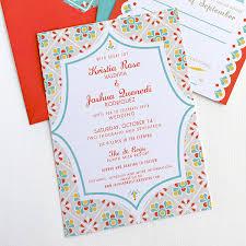 Destination Wedding Invites Invitation Suite U2013 Mexican Talavera Tile U2013 Destination Wedding