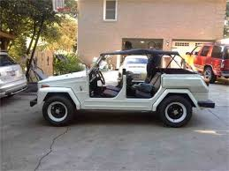 1974 volkswagen thing interior 1974 volkswagen thing for sale classiccars com cc 1048458