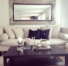 Mirror Living Room Tables Black Living Room Wall Mirror 8 Ideas To Use A In Large