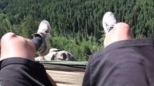 Hanging Hammocks Hanging Hammock Off A Cliff Youtube