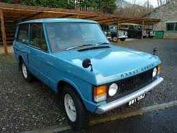 blue land rover 1971 range rover 2 door classic diesel land rover centre