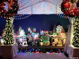 mini lights for christmas village houston zoo lights mini train village endless bliss