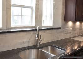 Granite Countertops With Cherry Cabinets Kitchen Astounding Kitchen Backsplash For Black Granite