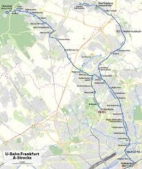 Rewe Bad Homburg U Bahn Strecke A Frankfurt Am Main U2013 Wikipedia