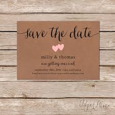 rustic save the dates announce your wedding date to family and friends with this sweet