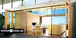 Bi Fold Glass Doors Exterior Cost Folding Glass Doors Exterior Exterior Folding Glass Patio Doors