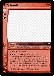 Mtg Card Design Zelnodi Mtg Card Deviant By The Zerg Overlord On Deviantart