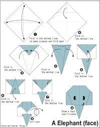 best 25 origami elephant ideas on geometric elephant