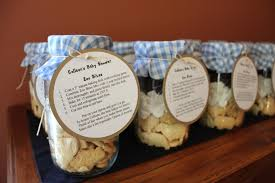 jar baby shower ideas baby shower favors using jars jar favors baby shower diy