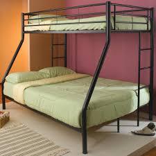 twin over full metal bunk bed design twin over full metal bunk
