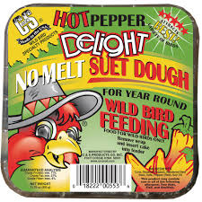 c u0026 s products pepper delight 0 7 lb wild bird suet cs12553