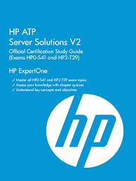 thp atp server solutions v2 official certification study guide h