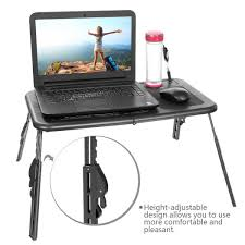 Laptop Cooling Desk by Amazon Com Homdox Laptop Desk Stand Portable Folding With
