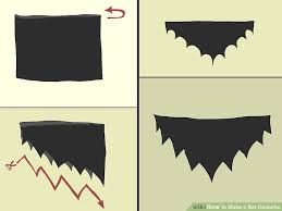 bat costume 3 ways to make a bat costume wikihow