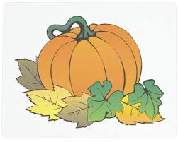 815 best halloween clipart images 15 x 12 autumn leaves and pumpkin tempered glass cutting board