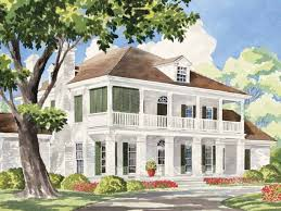 eplans plantation house plan sterett springs from the southern