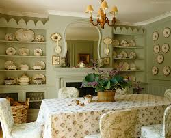 chintz filled dining space in wales penny morrison style