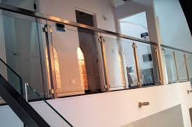 railing fitting stainless steel square type glass balcony clamp