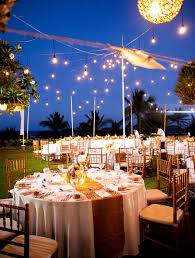 Omaha Outdoor Wedding Venues by Gold Hues And Twinkle Lights Set The Scene For A Romantic And
