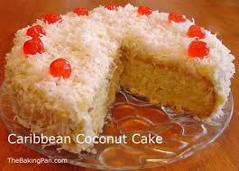 Coconut Cake Recipe Caribbean Coconut Cake Recipe Thebakingpan Com