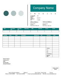 invoice sample template free invoice templates for word excel