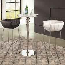 Contemporary Bar Table Contemporary Bar Table And Stool Set By Scott Living Wolf And