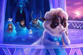 grumpy cat invades disney u0027s