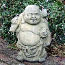 roaming buddha statue large garden sculpture s s shop