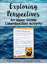 columbus day activity for upper grades teaching to inspire with