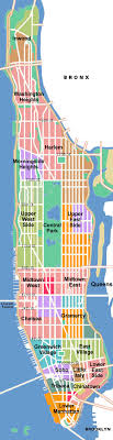 manhattan on map city of new york new york city map manhattan map