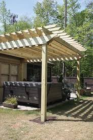 How To Build A Wooden Awning Build An Attached Carport Extreme How To
